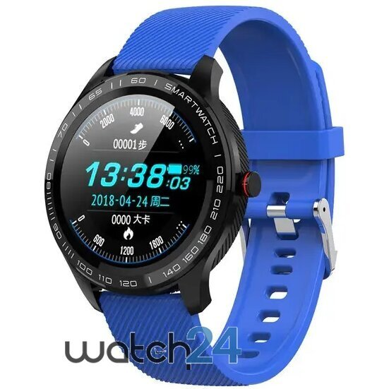Smartwatch Generic cu bluetooth, monitorizare ritm cardiac, notificari, functii fitness S56